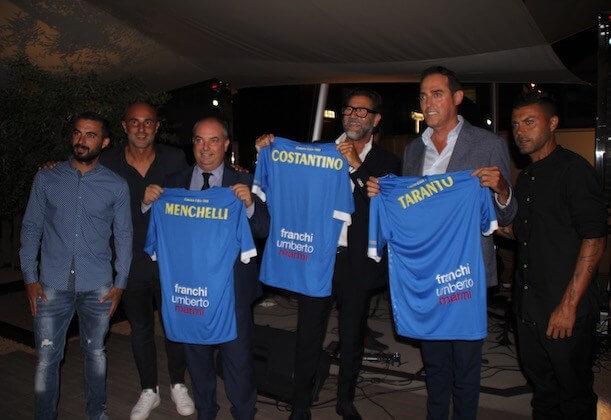 The italian sea group spnsorship Carrarese Calcio